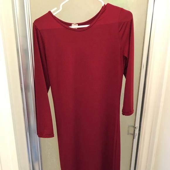 amazon Dresses & Skirts - Burgundy Dress